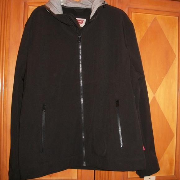 05e85ea351f LEVIS Waterproof Hooded Coat Mens XL NEW